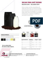 Flair Dark Roast Coffee Bag SPFlyer