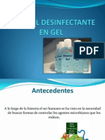 Alcohol Des Infect Ante en Gel