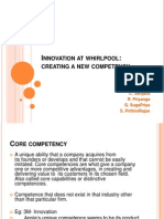 Innovation at Whirlpool