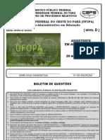 UFOPA 2010 Assistente Em Administracao