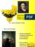 Goya. Ps. Jaime Botello Valle