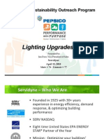 Servidyne_PepsiCo's Path to Green Sustainable Buildings - Lighting 101 - Servidyne (v3 PH)