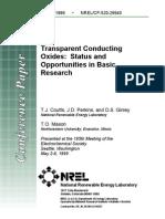 NREL Research Ideas
