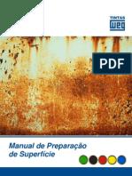 Manual de Preparação de superficie pintura