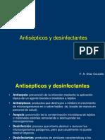 Antipticos y desinfectantes