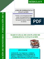 Módulo 9 Plan de Emergencia y Evacuación