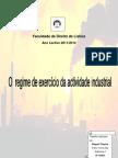 O Regime de Exercício da Actividade Industrial - DL 209/2008
