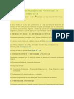 RELACIÓN DE DOCUMENTOS DEL PORTAFOLIO DE EVIDENCIAS DE APRENDIZAJE
