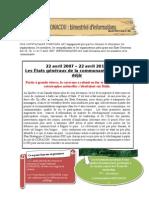 Bulletin Infoconacoh 2012 No 2