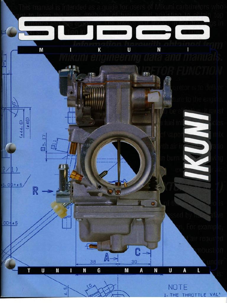 sudco mikuni tuning manual pdf
