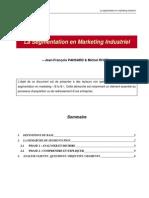 La Segmentation en Marketing Industriel
