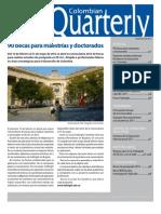 Colombian Quarterly - Diciembre 2011