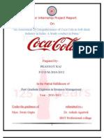 Prannoy Raj Coca-cola