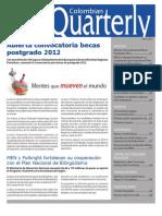Colombian Quarterly - Marzo 2011