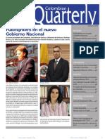Colombian Quarterly - Septiembre 2010