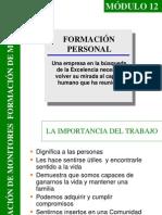Módulo 12 Formación Personal
