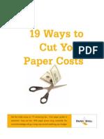 Paper Specs 19 Ways