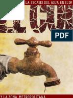 escacez agua DF