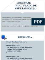 Ejercicios SQL Ejem. Colate