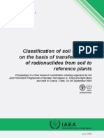 Soils Systems Radionuclides