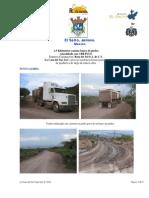 CBR PLUS construccion de camino para Banco de Piedra El Salto Jalisco Mexico