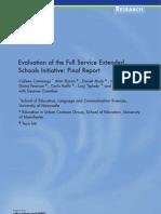 Evaluation of FSES Initiative