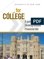 Paying for College Brochure 20112012