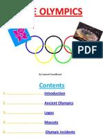 Sam's Olympics Power Point