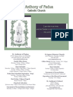 05/06/12 - St. Anthony of Padua Parish Bulletin