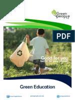Green Education / Conferencia y Eco-talleres para colegios