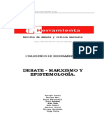13269316 Cuadernos de Herrramienta 1 Debate Marxismo y Epistemologia