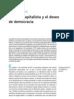 Alba Rico, Santiago - La Crisis Capitalist A y El Deseo de Democracia