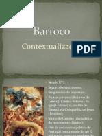 Contextualização Barroco
