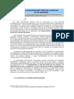 La Comunicacion Interna y Externa de La Empresa