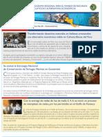 Boletin No. 5.  Programa Regional de USAID para el Manejo de Recursos Acuaticos y Alternativas Economicas.
