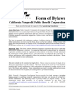 Annotated Bylaws