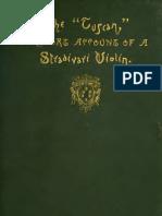 A Short Account of a Stradivari Made for Cosimo de Medici