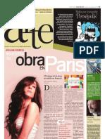 Avelina Fuentes  muestra su obra en París