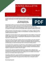 Bargaining Bulletin 2
