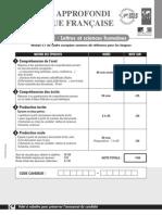 DALF C1-Lettres Et Sciences Candidat