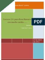 E mails a RosaNavarro de parte de alumnos del IE Cañada Blanch