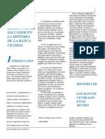 Historia Del Banco Central