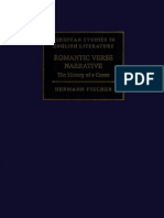 Romantic Verse Narrative the History of a Genre European Studies in English Literature