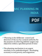 Economic Planning in India (Mod)
