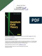 Quantum Field Theory Errata-Mark Srednicki