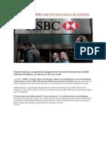 Ganancia de HSBC sube por sólida banca de inversión
