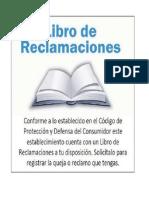 LIBRO DE RECLAMOS
