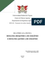relatorio DQO DBO