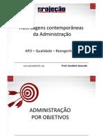 Abordagens contemporaneas da administração