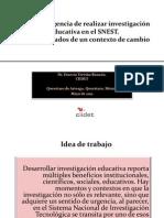 La IE en el SNEST Ernesto Treviño